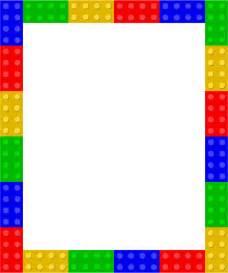 clipart lego frame 1