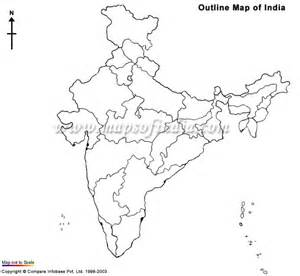 India Outline Map For Printing by Free Coloring Pages Of India Political Outline