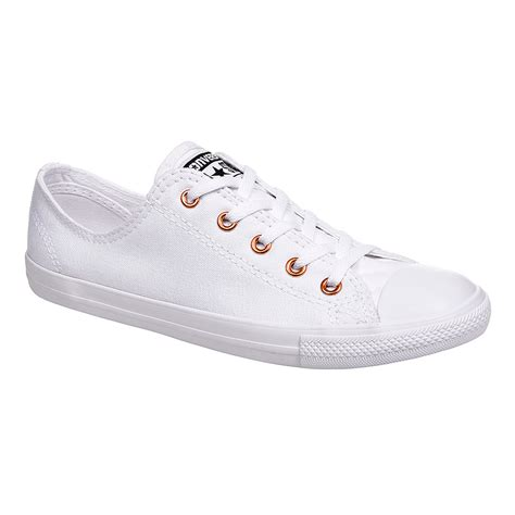 Converse Dainty Ox Weiß by Converse All All White Dainty Ox Shoes Womens Chuck