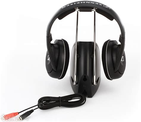 Headset Fleco Bass Fl 900 sennheiser rs 135 9 rf wireless headphone system on ear reverb