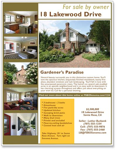 real estate flyer ideas photography for real estate