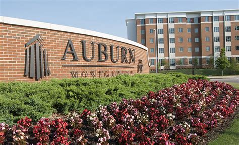 Requirmments To Graduate Mba From Aum Montgomery by About Auburn Montgomery Aum