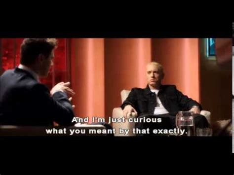 is eminem i m the interview film eminem gay scene from the interview youtube