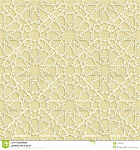 islamic pattern vector ai islamic star gold pattern stock vector image 47727162