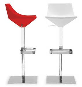 fly bar stool calligaris modern fly bar stool in red white or