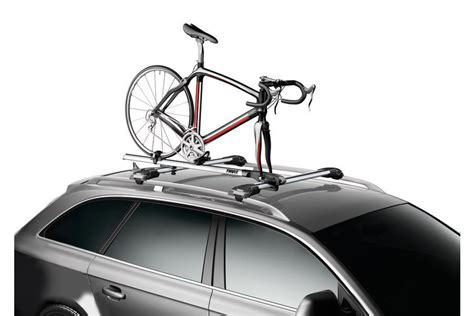 thule 527 paceline fork mount carrier thule roof mount