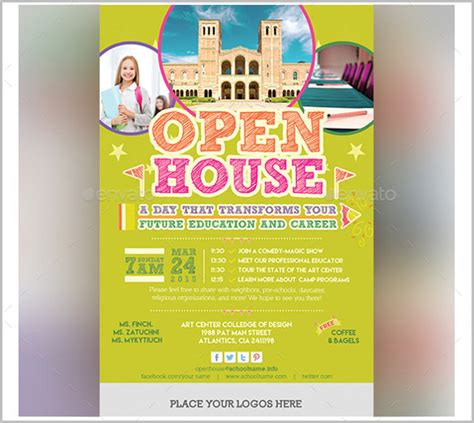 open house template open house invitation template themesflip