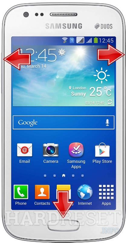 samsung galaxy ace 3 s7278u hard reset code format solution samsung s7272 galaxy ace 3 duos recovery mode