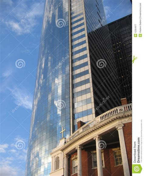 modern american architecture modern american architecture in new york city royalty free