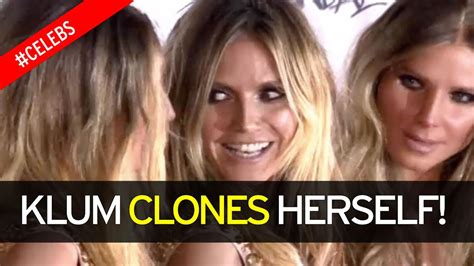 Heidi Klum Surrounds Herself With Five Real Life Clones At Her | heidi klum surrounds herself with five real life clones at