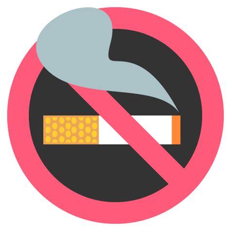 no smoking sign android no smoking emoji