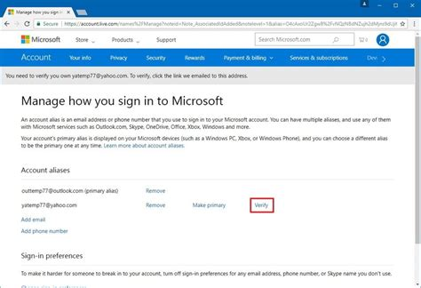 outlook sign in to your microsoft account how to get your yahoo email contacts and calendars using
