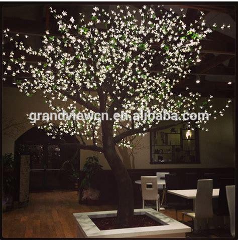 white artificial nature led cherry blossom tree light