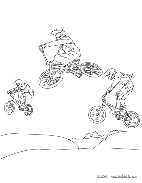bmx bike coloring page letscoloringpages com nice pic