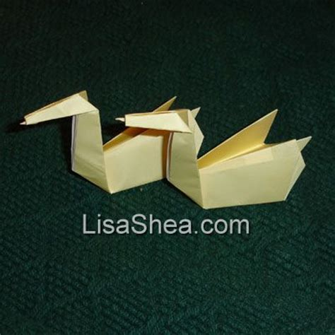Swan Origami Meaning - origami swan handmade origami designs