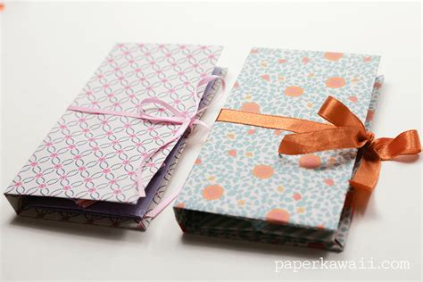 Origami Book - origami thread book tutorial paper kawaii