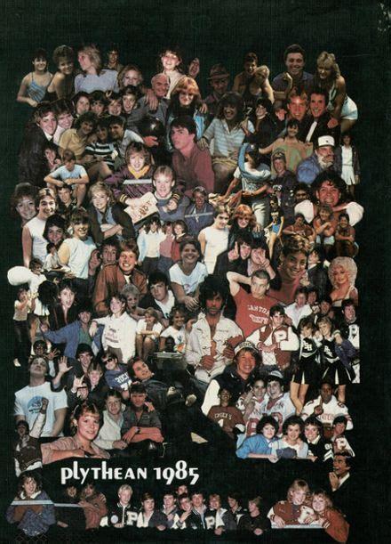 plymouth canton salem high school 1985 plymouth salem high school yearbook canton mi