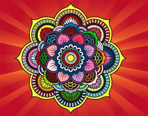 orientali fiori disegno mandala fiore orientale colorato da teopolpy il 17