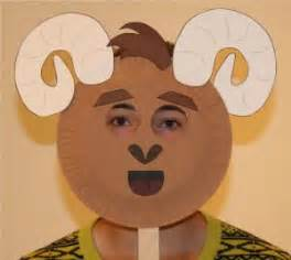 printable ram mask 17 best images about ed kdg 3 billy goats gruff on