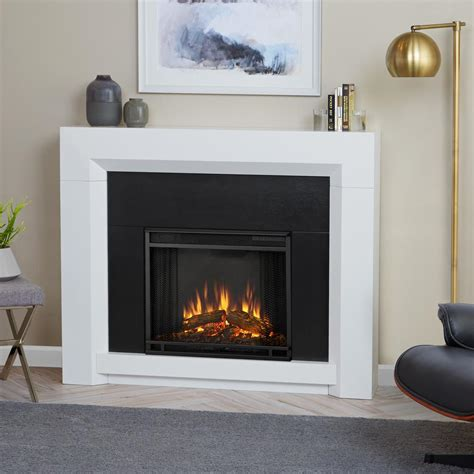 real colton 48 in ventless electric fireplace in