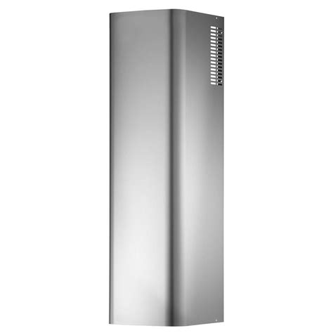 broan elite fan broan stainless steel non ducted flue extension for broan