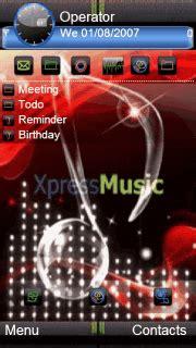 mobile themes music download xpress music nokia note theme nokia theme