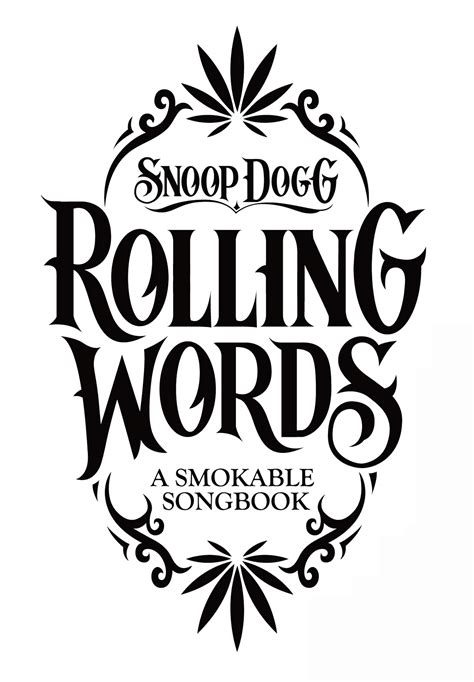 Rolling Words: Snoop Dogg's Smokable Book 4 - Print (image