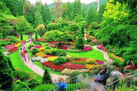 butchart gardens  brentwood bay british columbia