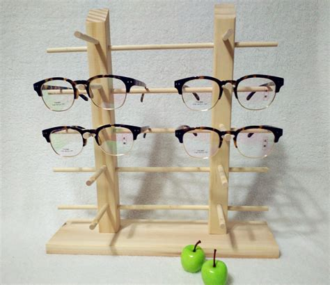 Buying Reading Glasses The Shelf by Aliexpress Buy Glasses Display Shelf Wooden Eyeglasses Stand Holder Sunglasses Rack Show