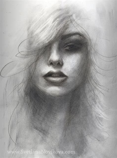 Portraits And Sketches by Charcoal Drawings Graphite Drawing Charcoal