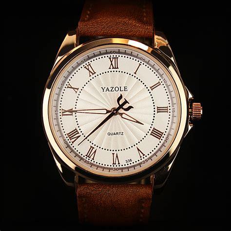 Jam Tangan Yazole yazole jam tangan analog 336 brown white