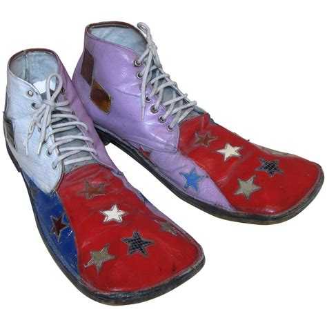 clown shoes toe hobo clown shoes at 1stdibs