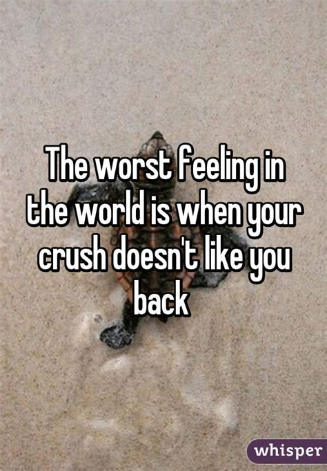 7 Signs That Your Doesnt Like You by The Worst Feeling In The World Is When Your Crush Doesn T