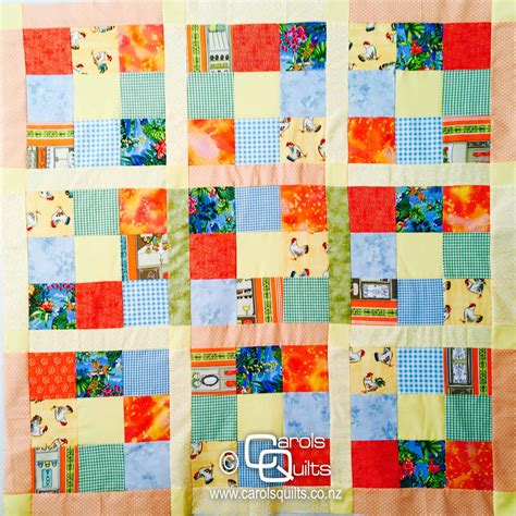Quilt Designs Using Squares by Scrappy Quilt Patterns And Easy Carols Quilts