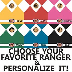 power rangers names and colors mighty morphin power ranger custom color 12 x 12 paper