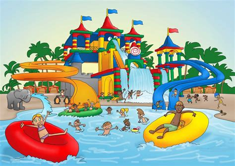 mi cartoon themes at the water park with germs by dimitrikawada on deviantart