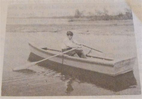 flat bottomed boat 6 letters r anh0628 a flat bottomed rowboat vintage woodworking