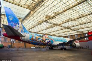 pattern air jobs new disney themed boeing 767 is unveiled with cabin crew