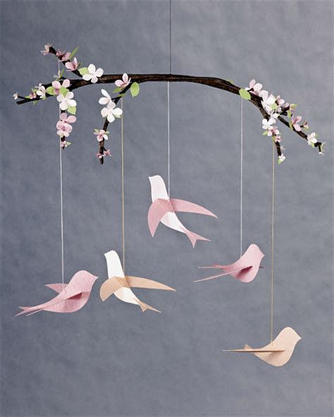 Paper Mobiles To Make - all things paper paper birds to make