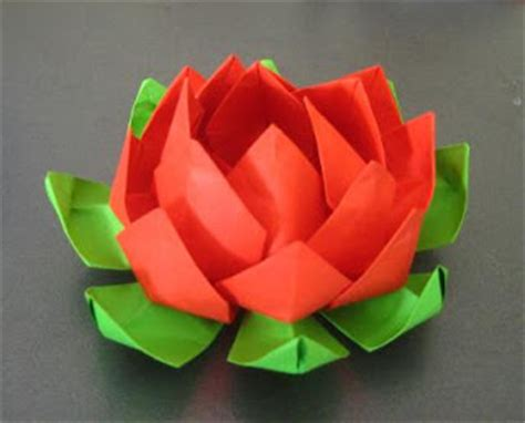 How To Make An Origami Lotus - pastry chef wannabe how to make origami lotus