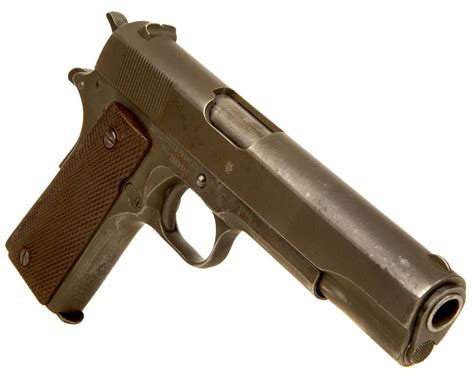 deactivated spec wwii colt 1911a1 pistol allied