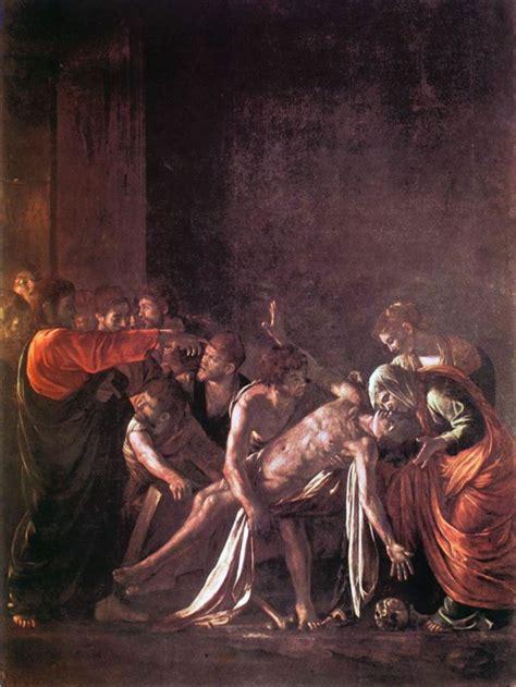parrocchia porto santo stefano l arte incontra la quaresima la resurrezione di lazzaro