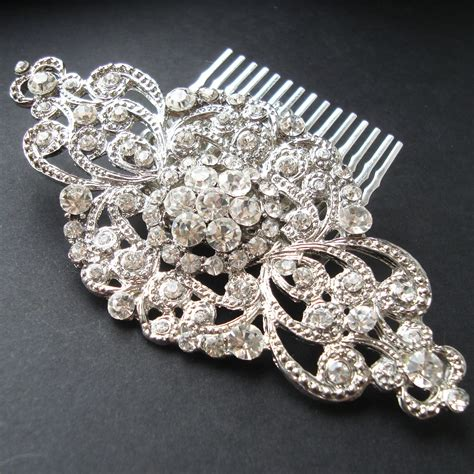 Vintage Wedding Hair Combs by Vintage Style Bridal Hair Comb Wedding Bridal Hair
