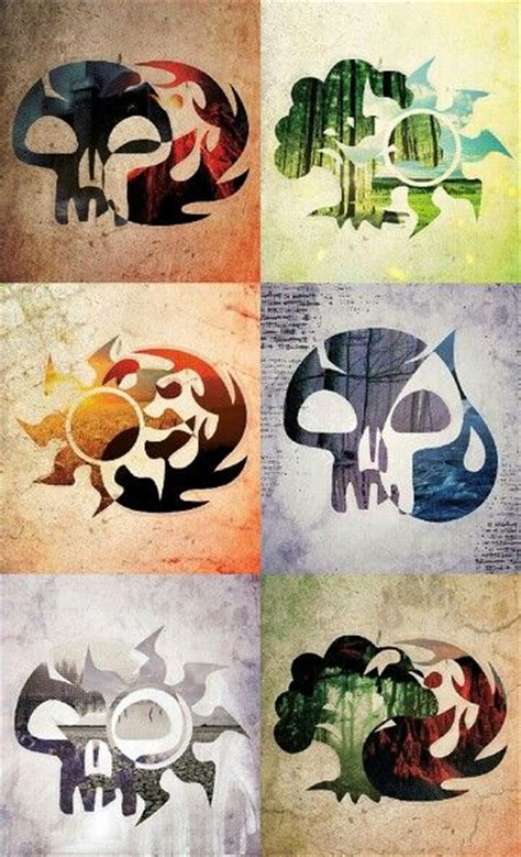 mtg color combinations 25 best ideas about magic the gathering on