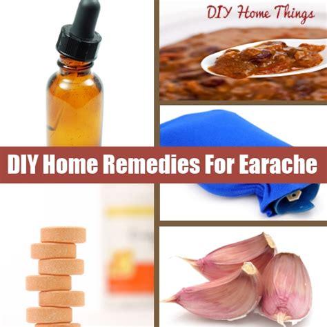 useful diy home remedies for earache diy home things