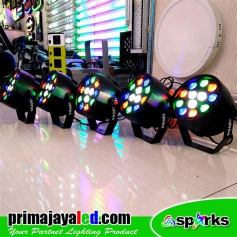 Lu Par Spark Mini 12 X 1 Watt paket 5 led mini par 12 prima jaya led