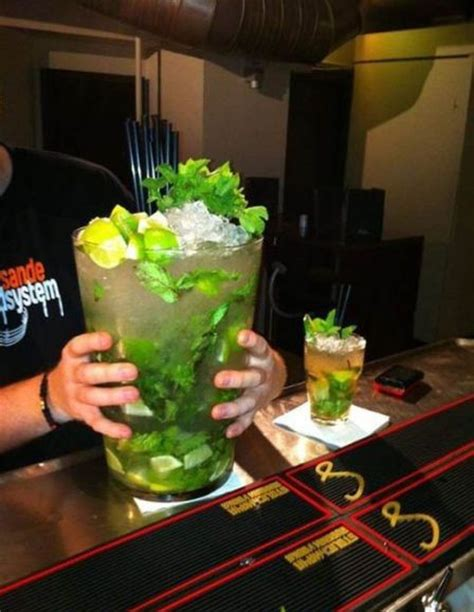 giant cocktail big mojito 1funny com