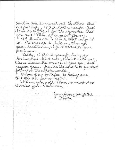 Letter Happy Birthday happy birthday letter my