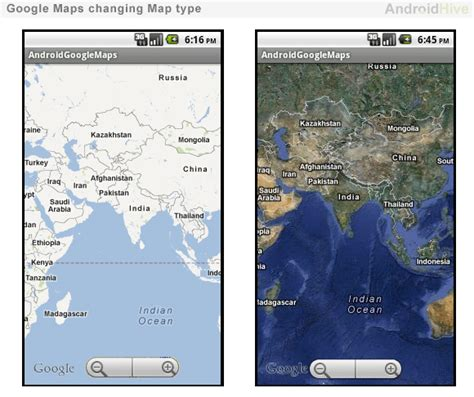 maps view android android working with maps