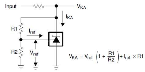 r1 resistor values tl431 r1 r2 resistor value etc analog forum etc analog ti e2e community